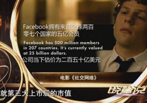 """高晓松谈""""facebook""""让你有新的观点"""