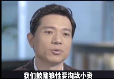百度李彦宏说我们要鼓励狼性要淘汰小资