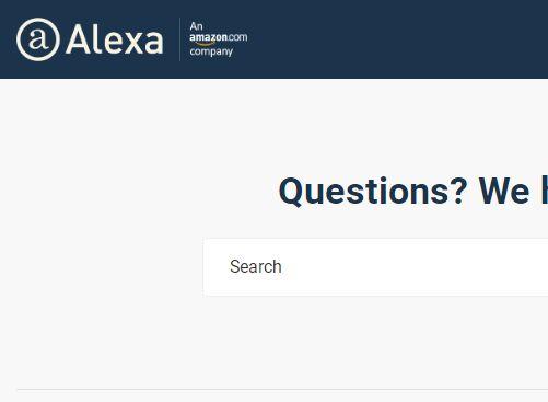 Alexa网站登录入口