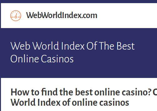 Web World登陆入口