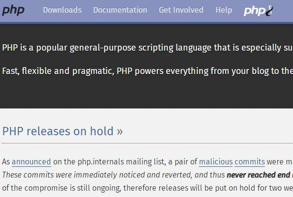 PHP官网