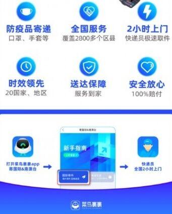 """菜鸟裹裹上线国际寄件天猫国际在上海设立""""数字化首店孵化中心"""""""