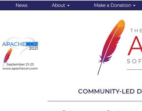 Apache服务器软件官网